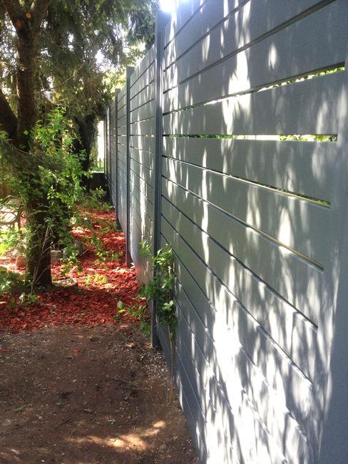 Nive JardinesCercos y muros Aluminio/Cinc Gris