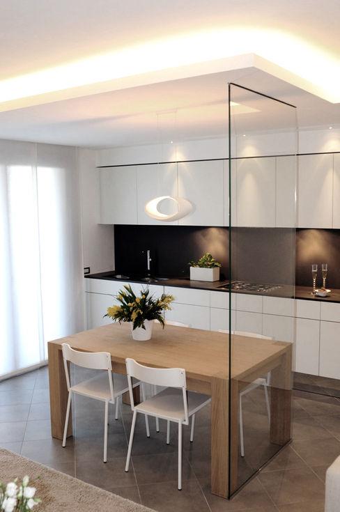 tea.rchitettura Minimalist dining room