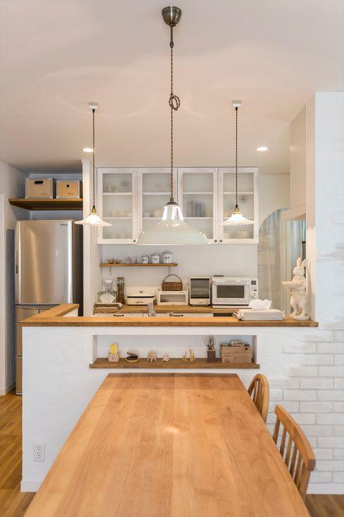 ジャストの家 Kitchen White