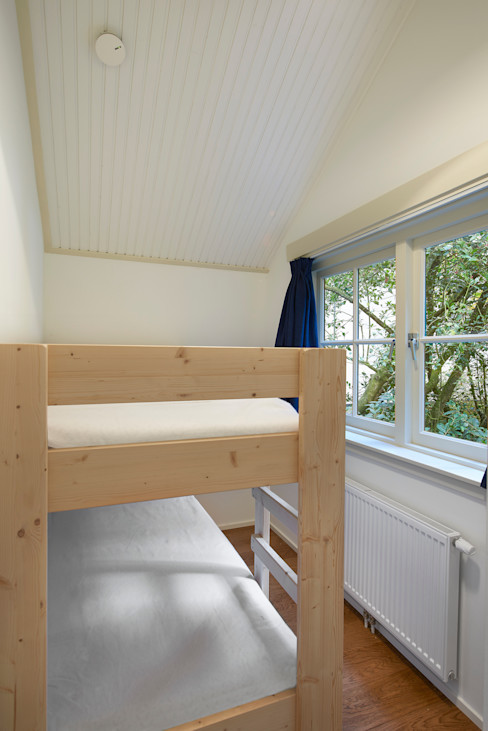 Architectenbureau Vroom Phòng ngủ phong cách đồng quê