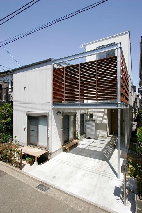 MS-House 仲摩邦彦建築設計事務所 / Nakama Kunihiko Architects モダンな 家 木 ブラウン