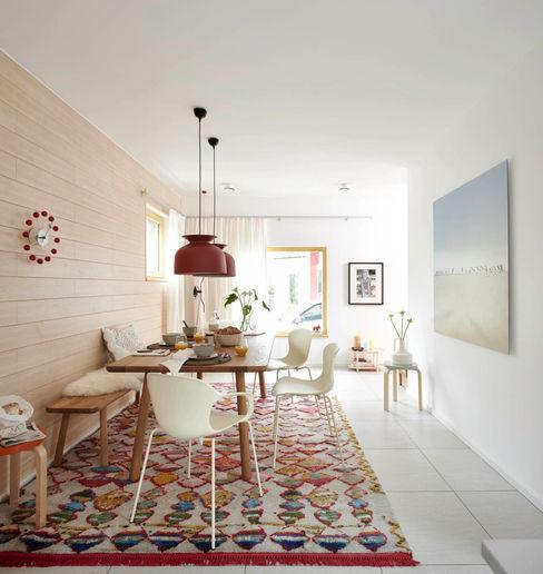 Esstisch mit Kelim Burkhard Heß Interiordesign Moderne Esszimmer
