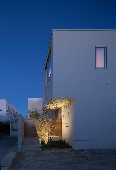 Terrace House Atelier Square モダンな 家
