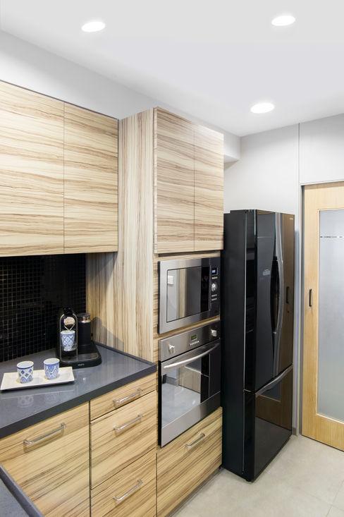 Nitido Interior design CocinaArmarios y estanterías Madera Acabado en madera