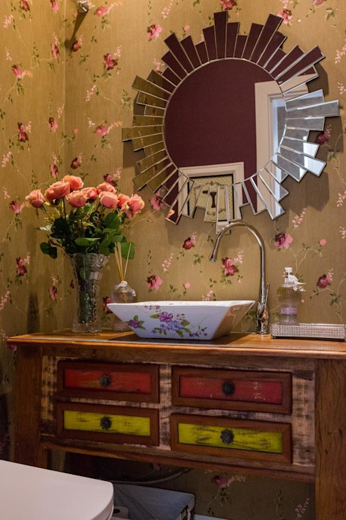 Marcelo Lopes Arquitetura Eclectic style bathroom