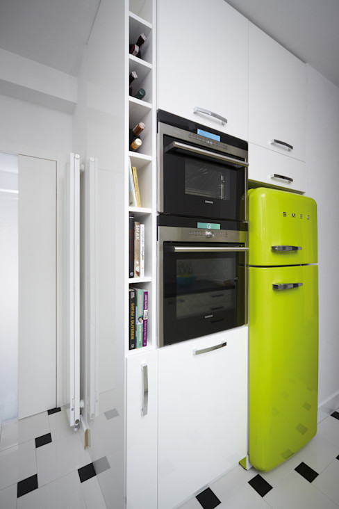 RED design Cuisine moderne Blanc