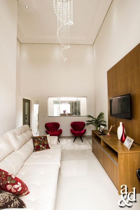 Arch & Design Studio غرفة المعيشة