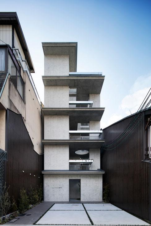 株式会社 藤本高志建築設計事務所 現代房屋設計點子、靈感 & 圖片 水泥 Grey