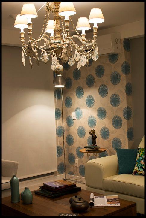 Diseñadora Lucia Casanova Ausgefallene Wohnzimmer