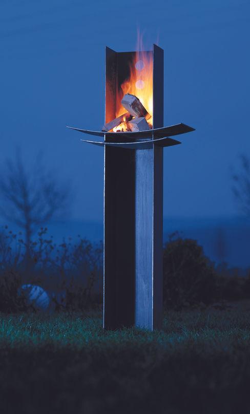 """Feuerdesign Wodtke """"Manitu"""" wohnfeuer Moderner Garten Metall"""