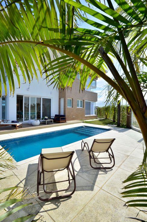 Biazus Arquitetura e Design Modern pool