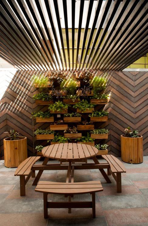 Ahaan Villa - Ahmedabad OPENIDEAS Interior landscaping
