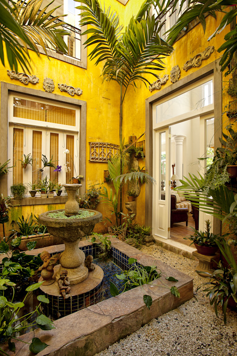Marcelo Bicudo Arquitetura Colonial style conservatory
