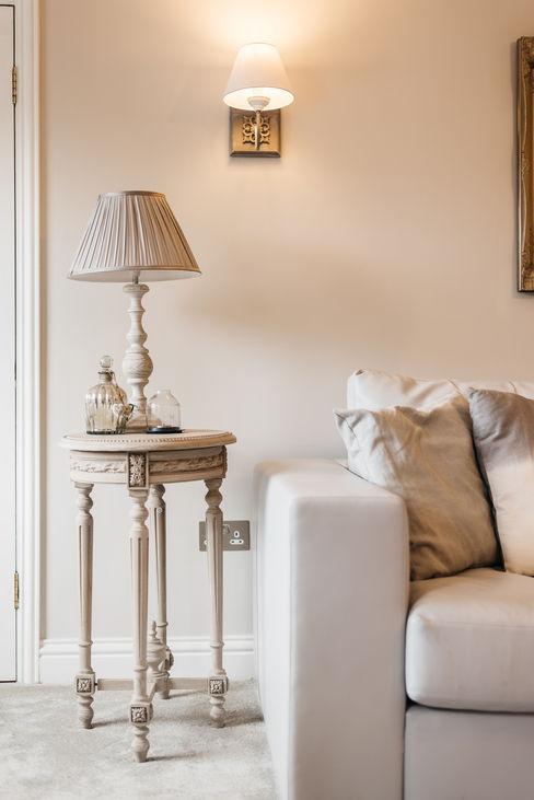 French Shabby Chic Living Room Katie Malik Interiors Salones modernos