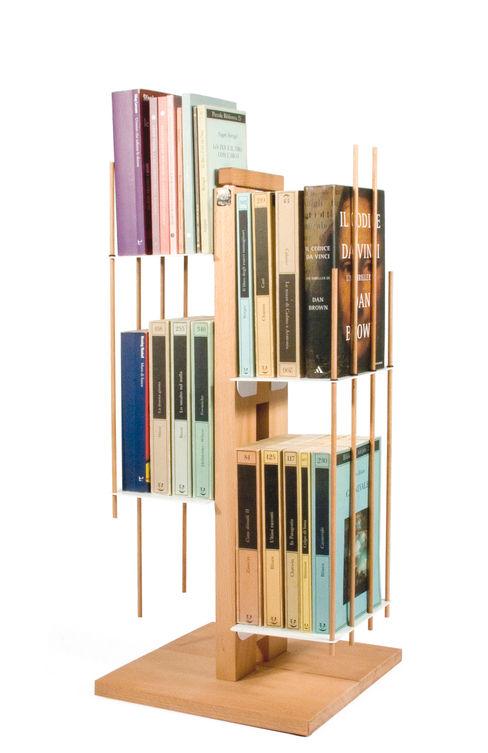 Zia Veronica | Column bookshelf | h 60 cm Le zie di Milano HouseholdHomewares Solid Wood Wood effect