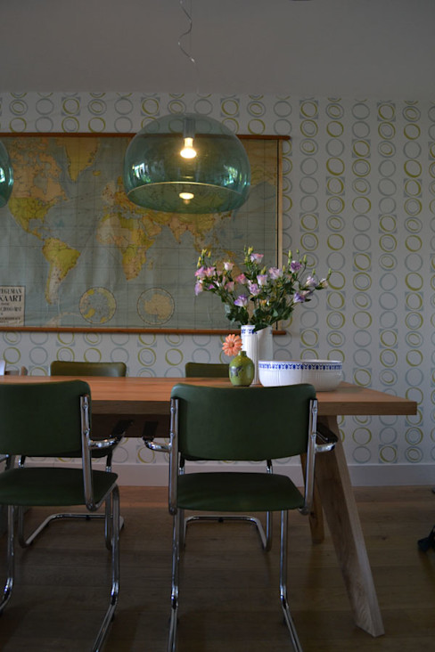 INTERIEURONTWERP RETRO Binnenkijken Interieuradvies Moderne woonkamers