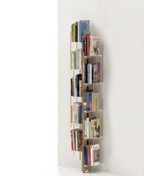 Zia Veronica | Wall bookshelf | h 150 cm Le zie di Milano HouseholdHomewares Solid Wood Wood effect