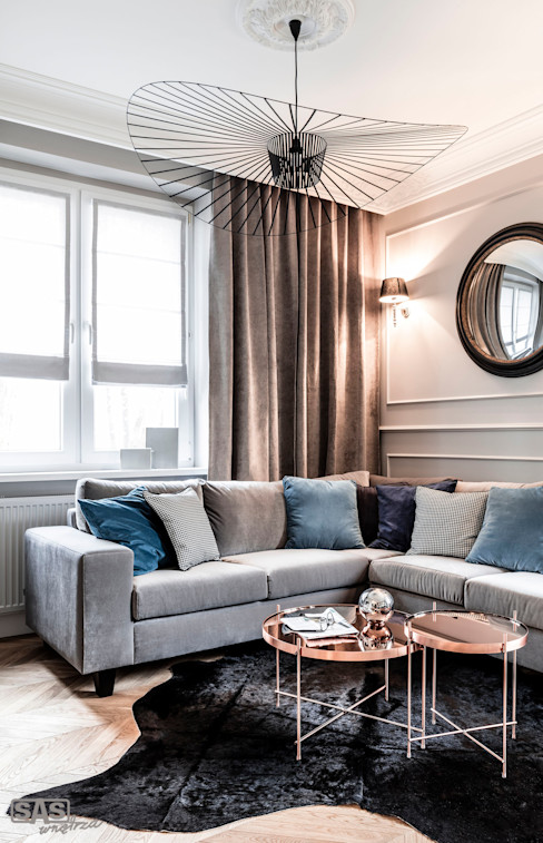 SAS Eclectic style living room