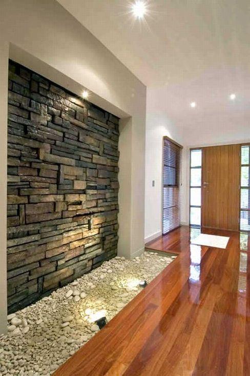 Últimos trabajos Spazio3Design Modern corridor, hallway & stairs
