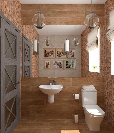 Студия дизайна Дарьи Одарюк 浴室 Multicolored