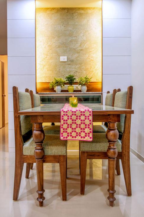Saar Interior Design Comedores de estilo ecléctico Multicolor