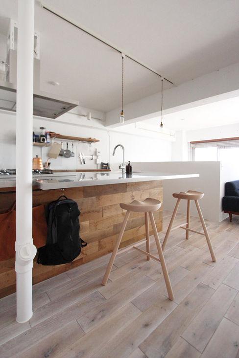 otokonoshiro nuリノベーション Minimalist kitchen