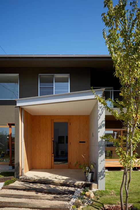 toki Architect design office Modern houses Wood Wood effect
