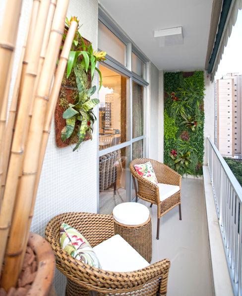 Andréa Spelzon Interiores Balcones y terrazas modernos: Ideas, imágenes y decoración