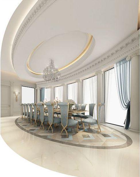 Fascinating Formal Dining Room Design IONS DESIGN Comedores de estilo colonial Mármol Azul