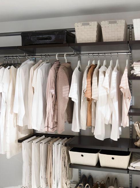 Elfa Deutschland GmbH Classic style dressing room Brown