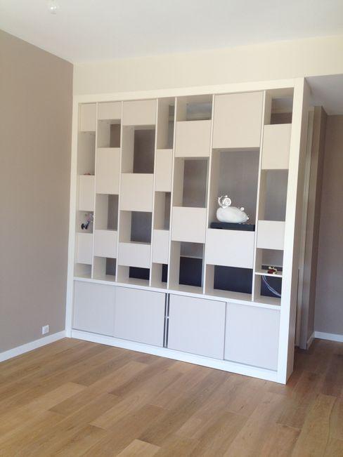 Appartement moderne Nice Blue Interior Design Salon moderne