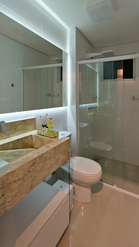 Banheiro Social homify Banheiros industriais