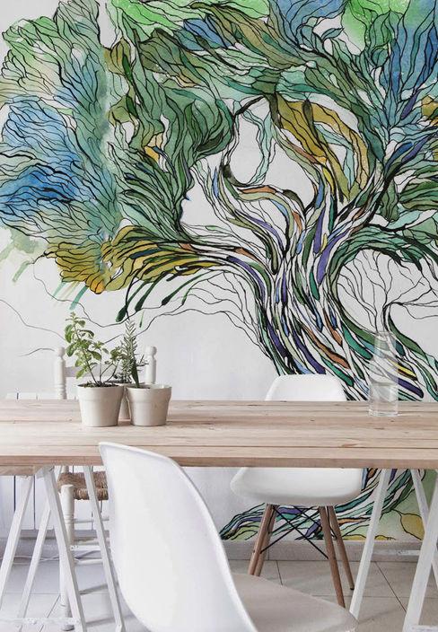Tree Pixers Scandinavian style dining room