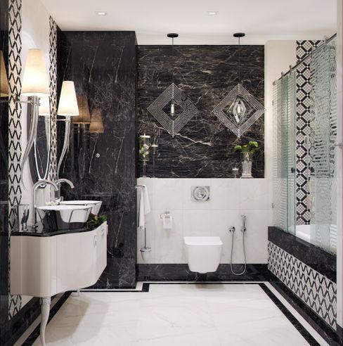 Студия дизайна Дарьи Одарюк Modern bathroom Multicolored