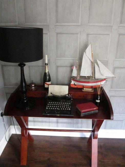 Living area details Little Mill House Salones eclécticos