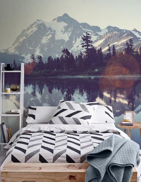 Lake Pixers Skandinavische Schlafzimmer Mehrfarbig