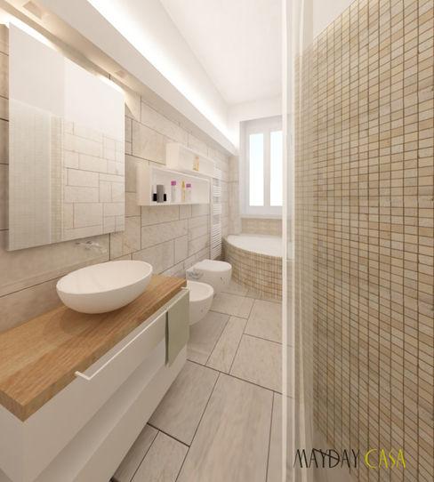 bagno Azzurra Lorenzetto Bagno moderno Pietra Beige