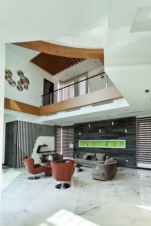 Design Spirits Salones de estilo moderno