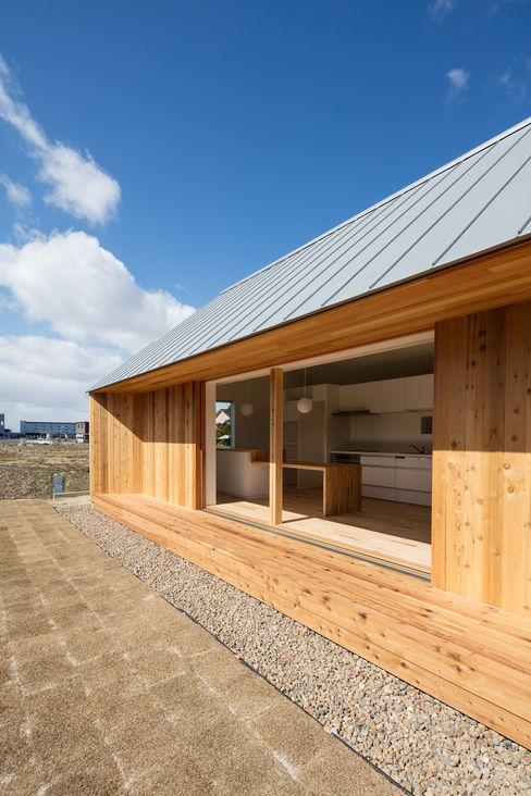 hm+architects 一級建築士事務所 窗戶 木頭 Wood effect