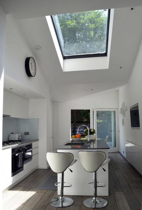 South Hill Park Belsize Architects Modern kitchen