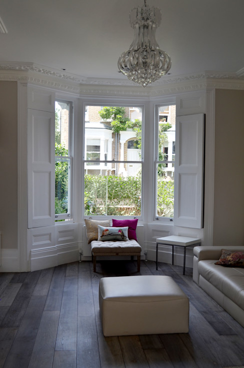 South Hill Park Belsize Architects Living room