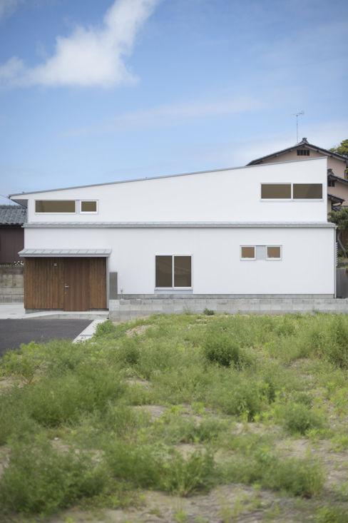 外観 加藤淳一級建築士事務所 モダンな 家
