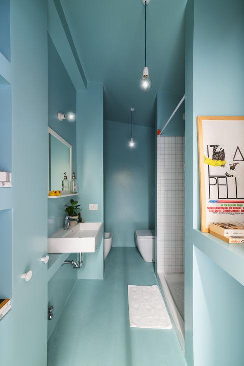Batipin flat - studio wok studio wok Bagno moderno