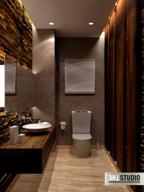 Dyar park twin house homify Eclectic style bathroom