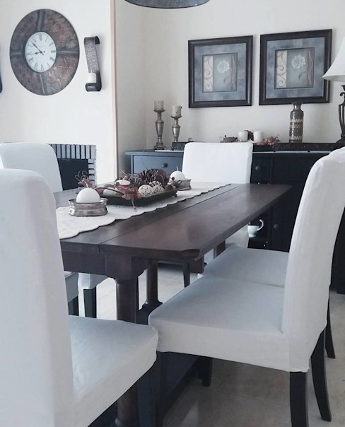Chalet en Madrid MGC Diseño de Interiores Comedores de estilo clásico