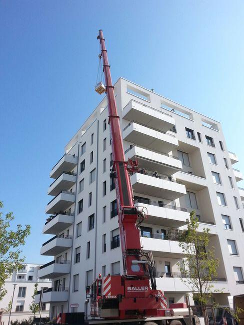 c4sun, Sonnensegel derraumhoch3 Moderner Balkon, Veranda & Terrasse