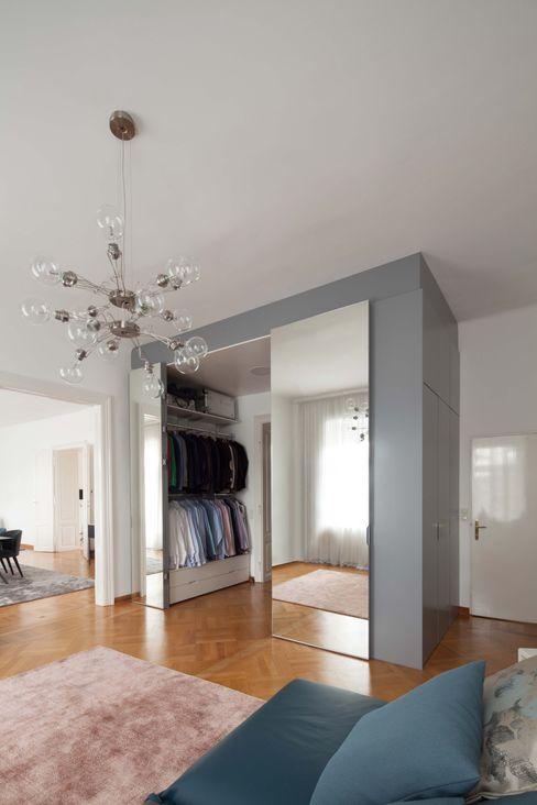 destilat Design Studio GmbH Modern style dressing rooms