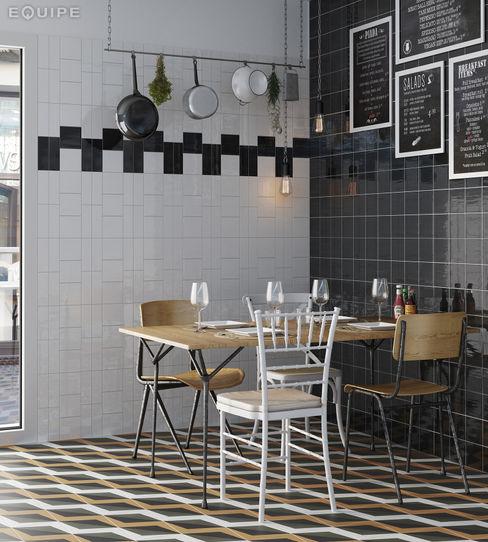 Equipe Ceramicas Mediterranean style dining room Ceramic