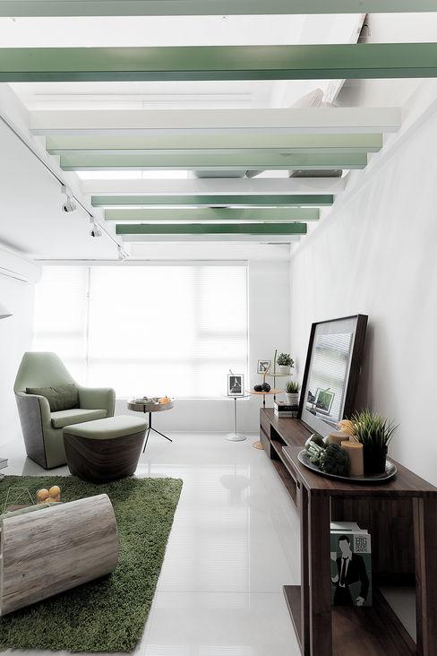 大晴設計 - 抹蔭 大晴設計有限公司 Living room