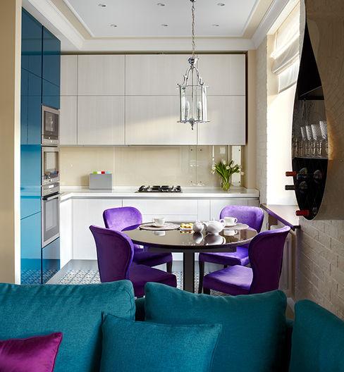 Marina Pennie Design&Art Ausgefallene Küchen Lila/Violett